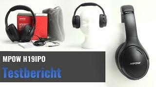 MPOW H19 IPO im Test - Preiswerter Bluetooth 5.0 Kopfhörer mit ANC