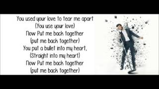 ROBIN THICKE FT NICKI MINAJ-BACK TOGETHER-LYRICS