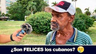 ¿Están DE ACUERDO los cubanos con su SISTEMA? | ¿SON FELICES? | 10CR