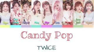 twice candy pop color coded lyrics - TH-Clip