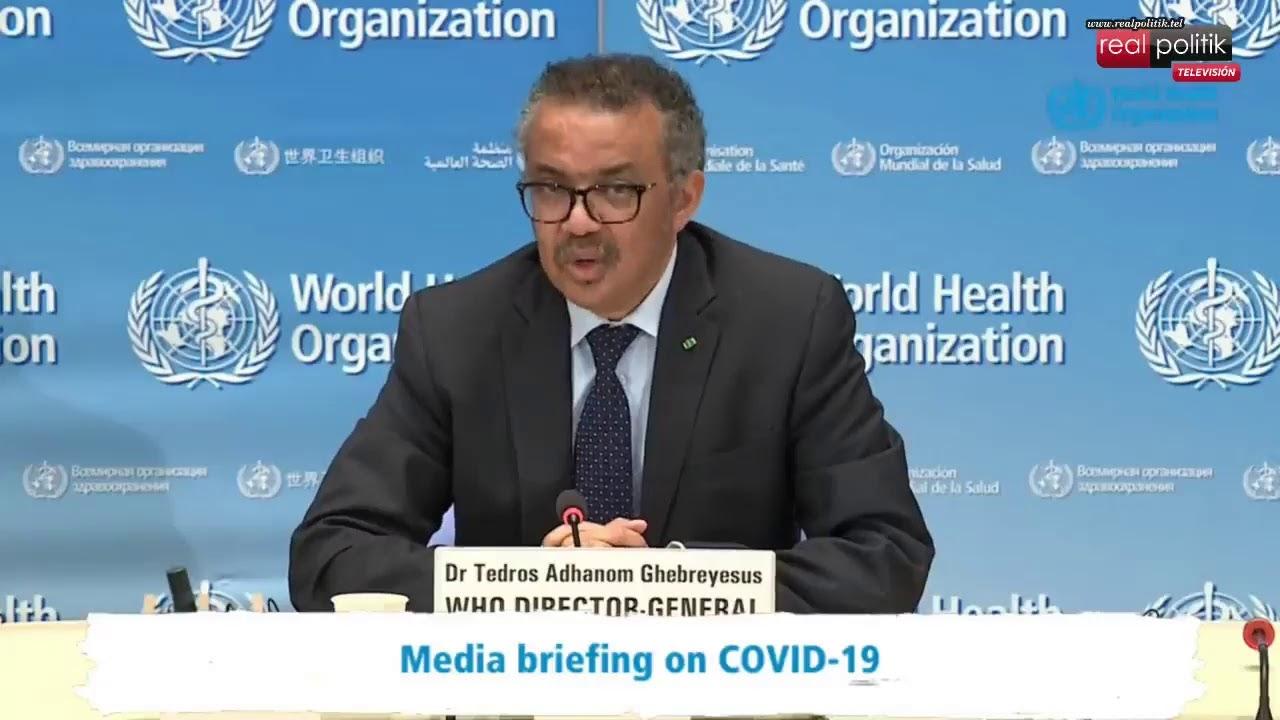 OMS: Informe sobre coronavirus en el mundo