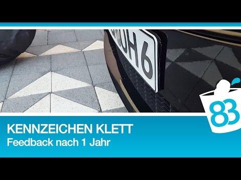 Kennzeichen mit Klett befestigen Feedback nach 1 Jahr - Fastech Klettband 83metoo