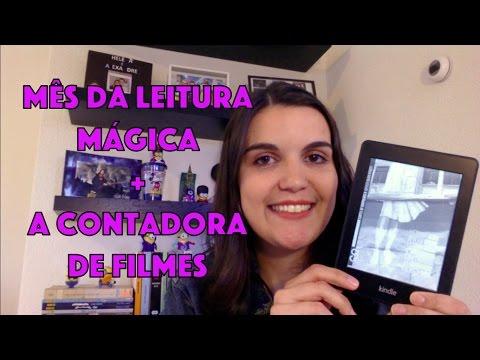 Mês da Leitura Mágica + Resenha de A Contadora de Filmes