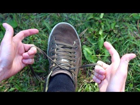 Schuhe binden in 2 Sekunden