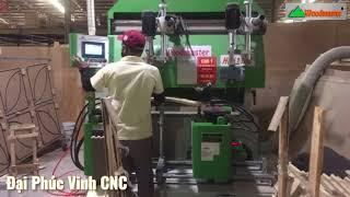 Thành hộc kéo tủ được tạo ra như nhế nào? Máy phay rãnh học kéo Woodmaster