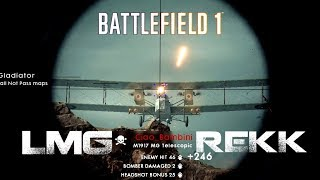 Battlefield 1 - LMG Moments | Dat start of a round!