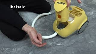 Bosch Toy Vacuum Cleaner By Theo Klein Unboxing & Demonstration