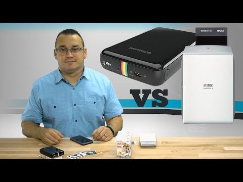 Polaroid ZIP Mobile Printer vs Fujifilm INSTAX SHARE SP-2 Printer