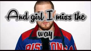 The Way It Used To Be   Mike Posner (Lyrics)