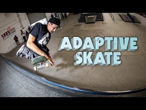 Skateboarding In The Paralympics | Adaptive Skateboarding