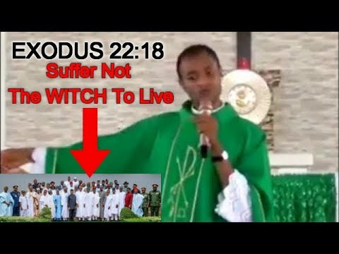 Real Witches Destroying Nigerians Are In Aso Rock & Govt Houses