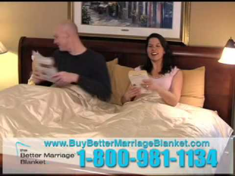 The Better Marriage Blanket Dampens Farts To Save <strike>Lives</strike> Relationships