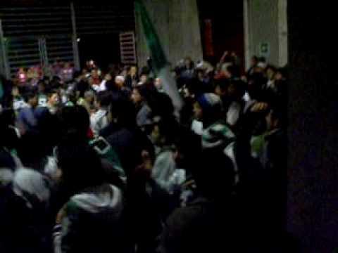 """""""Los Devotos Noche Albiverde"""" Barra: Los Devotos • Club: Deportes Temuco"""