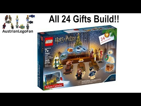 Vidéo LEGO Harry Potter 75964 : Calendrier de l'Avent LEGO Harry Potter 2019