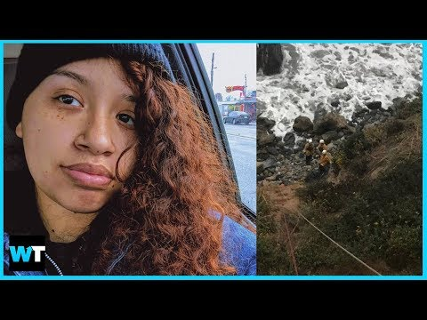 Woman Survives For SEVEN DAYS After Driving Her Car Off A Cliff! | What's Trending Now!