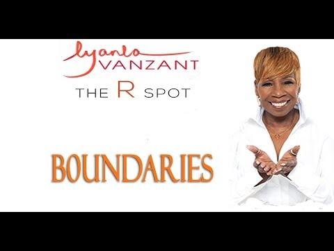 Boundaries – The R Spot- Iyanla Vanzant