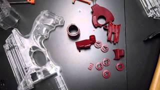 2 Custom TRON Nerf Maverick Mods