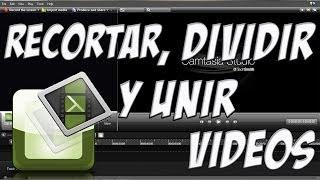 Tutorial Camtasia Studio 8 - Parte 3 - Recortar, Dividir y Unir Videos