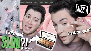 I BOUGHT EVERY PIECE OF MAKEUP FROM SHOP MISS A... HELP by Manny Mua