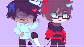 what happens if you step on Bad's tail? (ft. skeppy and bbh) (gacha)