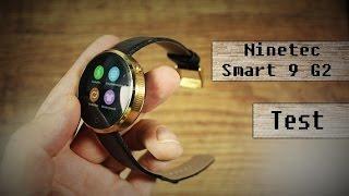 Smartwatch Ninetec Smart9 G2 - Review - Deutsch