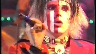 The Cult Spiritwalker, Flower In The Desert, Horsenation,  Live The Tube 13/01/84