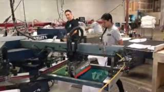 Ever wonder how t-shirts are made?