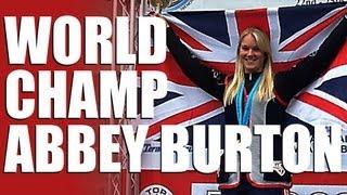 Schools Challenge TV – World champion Abbey Burton