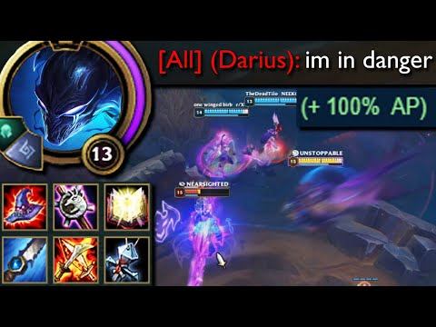 League of Legends but Nocturne's E has 100% AP Scaling for literally no reason and does a lot of dmg