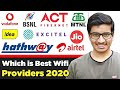 Best WiFi Providers with Best Plans & Services in India | WiFi & Broadband Connection