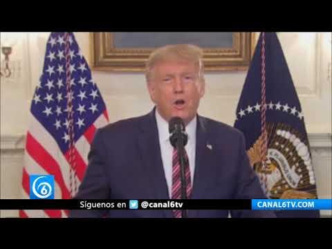 Donald Trump admite haber minimizado la amenaza del COVID-19