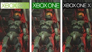 Halo 3 | 360 vs ONE vs ONE X | 4K Graphics Comparison | Comparativa
