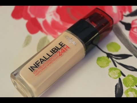 Infallible 24 Hour Fresh Wear Foundation by L'Oreal #7