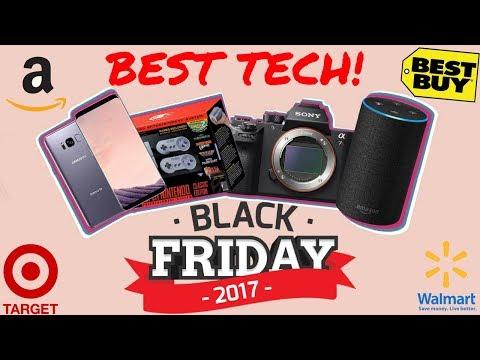 Best Tech Deals for Black Friday 2017!
