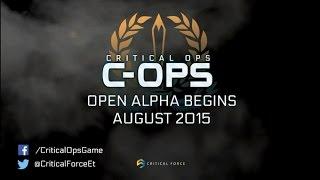 Анонс игры Critical Ops для мобильных устройств