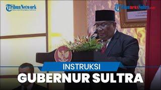 Gubernur Sultra Ali Mazi Instruksikan Semua Pihak Dukung Bupati dan Wakil Bupati yang Telah Dilantik