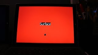 How to FIX Red screen on Surface Pro