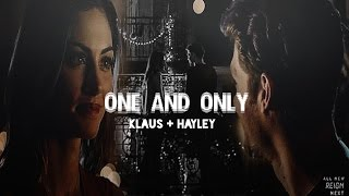 ■ Klaus + Hayley » One and only [+4x07]