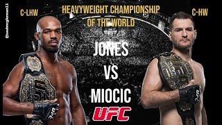 Jon Jones vs Stipe Miocic:  UFC Heavyweight Championship of the World * Fight Promo *