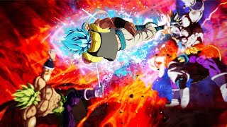 Round 2! THREE IDIOTS VS the HARDEST DBS Broly Raid Boss in Dragon Ball FighterZ