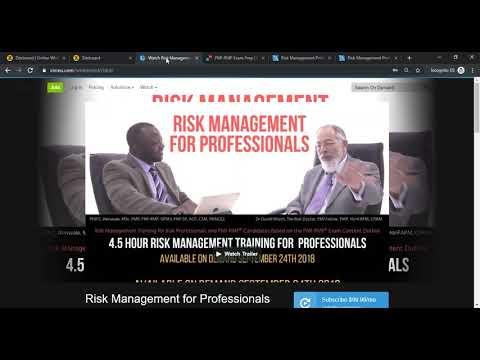 PMI-RMP Exam Advice - Risk Management Professional Exam To ...
