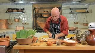Tu cocina - Tamal de calabaza y camarón seco