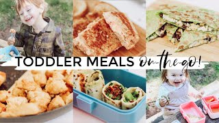 4 HEALTHY BACK TO SCHOOL LUNCH IDEAS 2019!!!   Toddler Meal Ideas For On The Go! (AD) Justine Marie