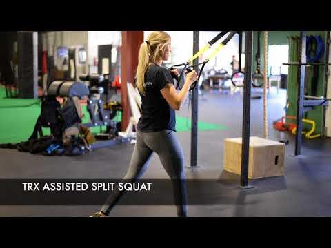 TRX Assisted Split Squat