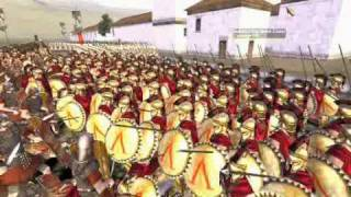 Sparta vs Rome - The Siege of Sparta