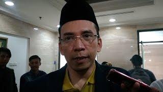 Tanggapan TGB Zainul Majdi saat Ditanya Gencarnya Pembangunan Pesantren Era Jokowi di Tahun Politik
