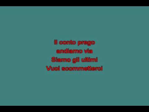 Mi chiamo aria   Zero Renato [karaoke]