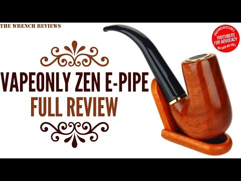 YouTube Video zu VapeOnly Zen Pipe E-Pfeifen Starterset 2200 mAh 1.2 ml