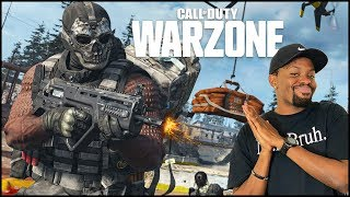 The New COD Battle Royale Is DOPE! (Call Of Duty WarZone Gameplay)
