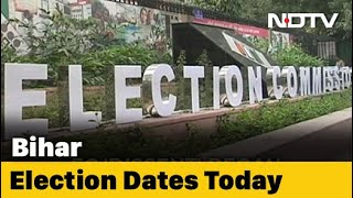 Bihar Poll Dates To Be Announced By Election Commission At 12:30 PM - Download this Video in MP3, M4A, WEBM, MP4, 3GP